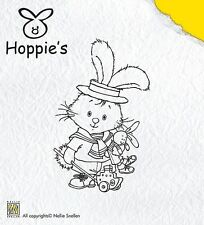 Hoppie's Little Sailor - Nellie Snellen Rabbit/Bunny Acrylic Cling Stamp HOP001