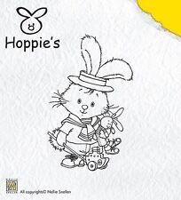 Hoppie's little sailor-nellie snellen lapin/bunny acrylique s'accrocher stamp HOP001