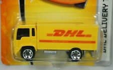 Matchbox 2007 MBX Metal DHL Delivery Truck J5576-0910 Yellow DHL Truck 1/64