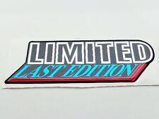 + LIMITED LAST EDITION Emblem - LLE Emblem für VW Bus T3  Multivan