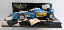 Voitures Formule 1 miniatures bleus sous boîte fermée pour Benetton