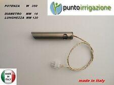 Candeletta accensione STUFA PELLET resistenza D. 16 x 120 W 350 ANSELMO COLA