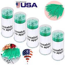 500 Pcs Dental Micro Brush Disposable Tooth Micro Applicator Mediumfine Size