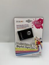 Zeikos 3-in-1 Stylish Digital Camera New