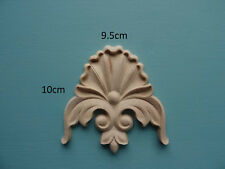 Decorative wooden center applique furniture moulding onlay OOO