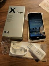 LG X Charge Unlocked Brand New In Box, 2 day battery life smartphone NR!