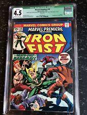 Marvel Premiere 19 CGC 4.5 1974