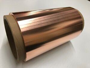 "Copper Sheet 10 mil / 30 gauge  36"" x 18'  - 25 lbs"