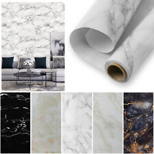 Marble Wall Stickers Self Adhesive Kitchen Waterproof Wallpaper Decal Home Decor