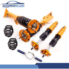 for BMW E36 3 Series Coilover Shock Absorber Struts Height Adjustable Full Kit
