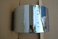 "DW HAND-CRAFTED PERFORMANCE SERIES 14"" SNARE DRUM SHELL in CHROME!!! C810"