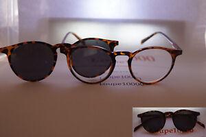 lunettes loupe de lecture avec clip magnétique solaire polarisé réf SUP13