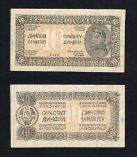 Jugoslavia / Jugoslavija - 10 dinara 1944 BB/VF  A-01