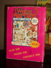 WHERE ARE THEY? 1992 PACIFIC TRADING CARD GAME BOX