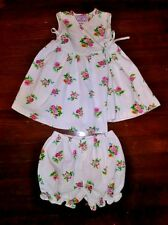 Plum Pudding Neiman Marcus 24 Mo 2T Girl Wrap Dress & Matching Bloomers Floral