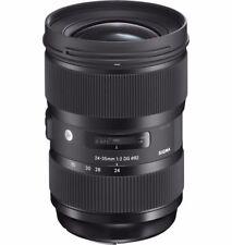 Sigma Fixed/Prime Auto & Manual Wide Angle Camera Lenses