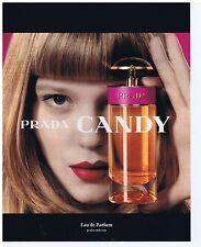 PUBLICITE ADVERTISING 114 2011 CANDY Prada eau de parfum LEA SEYDOUX