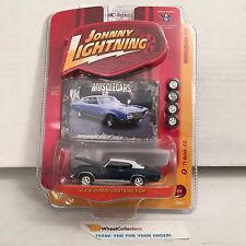 #1  '71 Buick GS * Dark Blue * Johnny Lightning Muscle Cars * F10