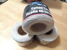 New twine Cotton twisted lot of 3 rolls=1260 Feet/1mm thick. Art/craft/gift tied