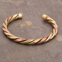 Unisex Magnetic Healing Bio Therapy Arthritis Pain Relief Bracelet Bangle Copper