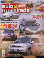 Auto & Fuoristrada n°11 2009 Pajero Evoultion 2 Hummer H2 GWM Hover [P39]