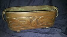 ANTIQUE ARTS AND CRAFTS Planter 39 cm Long