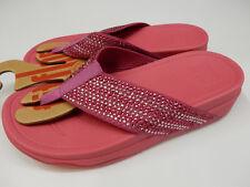 e5af65f28183af FitFlop Womens Surfa Crystal Psychedelic Pink Size 7