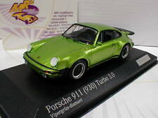 Minichamps CA04316027 # Porsche 911 (930) Turbo 3.0 in vipergrün-diamant 1:43