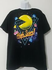 Pac-Man 80's High Score Adult T-Shirt - Official Arcade Video Game Pacman Tee