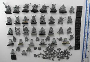 DWARF WARRIORS & THUNDERERS Plastic Dwarfs Dispossessed Army Warhammer 2000s 7