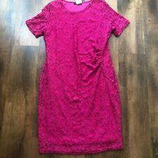BNWT Papaya Pink Lace Shift Dress - Size 18 NEW