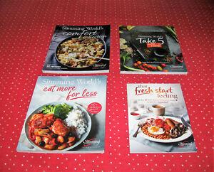 Slimming World X 3 B/New Cookbooks + Fresh Start Feeling 28 Days Menu Planner