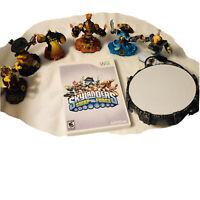 Skylanders Swap force Lot + Nintendo Wii Game Bundle + Portal Complete