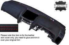 RED STITCH DASH DASHBOARD SKIN COVER FITS NISSAN SKYLINE R34 GTR GT-T 98-02