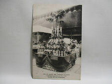 CPA ANCIENNE CARTE POSTALE STAND JAMBONS COLEMAN EXPOSITION CULINAIRE PARIS 1906