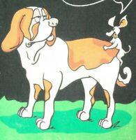 Vintage TAKE IT ALL B*TCH T Shirt VAST Art Dog Mouse Mens M Black Funny