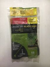 """Dupont Landscape Ready Tree Ring Pre-Cut Weed Defense Circle 35"""" Diameter"""
