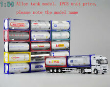 1/50 Alloy Model of international tank container15 spraying
