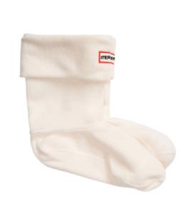 Hunter Women's Cream Short Boot Socks 19626 Size Large (7-9 M, 8-10 F)