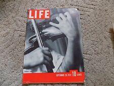 Life September 20 1937
