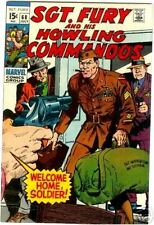 SGT FURY 68 F+ SERGEANT & HIS HOWLING COMMANDOS 1963 MARVEL NICK AGENT OF SHIELD