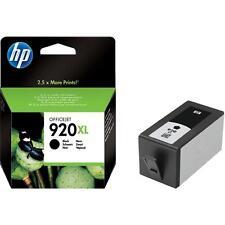 Genuine HP 920xl Black cartridge 6000 6500 7000 6500 a 7500 a WF presque Free Postage