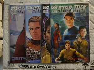 Star Trek 5 Year Mission #44 48 48 49 lot of 4 books IDW Comic Book