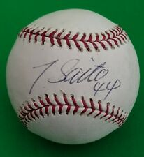Takashi Saito LA Dodgers and Boston Red Sox Authentic Signed Autographed MLB