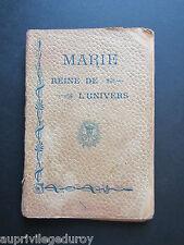 MARIE, REINE de l'UNIVERS, imprimatur 1902.