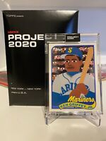 TOPPS PROJECT 2020 KEN GRIFFEY JR BY KEITH SHORE  #88 IN HAND W/BOX MARINERS