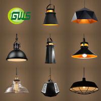 Vintage Industrial Retro Ceiling Pendant Light Fitting Lamp Shades Cafe Loft Bar