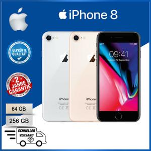 NEU Apple iPhone 8 - 64GB/256GB - Grau Silber Gold (Ohne Simlock) Smartphone DE