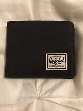 Herschel Mens Roy RFID Wallet, Black, One Size