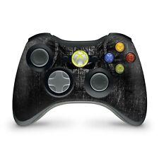 Xbox 360 Controller Skin Aufkleber Schutzfolie Sticker Skins Black Demon
